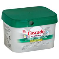Cascade Platinum Actionpacs, Dishwasher Detergent, Lemon Scent