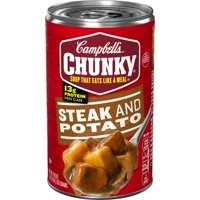 Campbell's Chunky Soup, Steak & Potato Soup, 18.8 Ounce Can