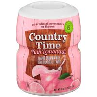 Country Time Pink Lemonade Drink Mix, Caffeine Free