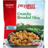 Pictsweet Farms® Southern Classics Crunchy Breaded Okra 12 oz. Stand Up Bag