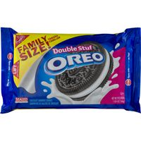 Oreo Double Stuf Chocolate Sandwich Cookies, Original Flavor, 1 Resealable Family Size Pack