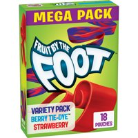 Fruit by the Foot Fruit Snacks, Berry/Strawberry 13.5 oz