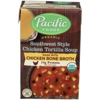Pacific Foods Organic Southwest Style Chicken Tortilla Soup With Chicken Bone Broth