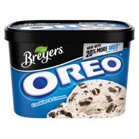 Breyers Frozen Dairy Dessert OREO Cookies & Cream 48 oz