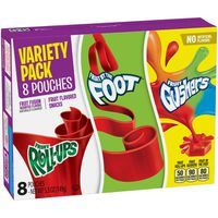 Betty Crocker Fruit Snacks, Frui-Ups, Fruit by the Foot and Fruit Gushers, Variety Snac