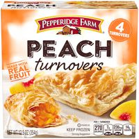 Pepperidge Farm Frozen Bakery Peach Turnovers