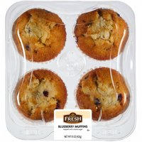 Kroger Blueberry Muffins