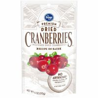 Kroger Premium Dried Sweetened Cranberries