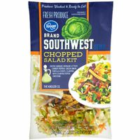 Kroger Southwest Style Chopped Salad Kit