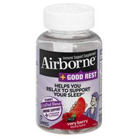 Airborne Vitamin C, Crafted Blend, Very Berry
