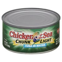 Chicken of The Sea Chunk Light Tuna in Water, 12 oz