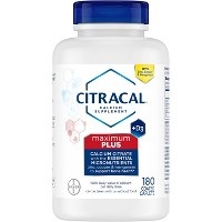 Citracal Calcium Citrate Dietary Supplement Tablets - 180ct