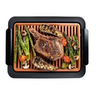 Gotham Steel Smokeless Electric Grill with Non-Stick Surface, Indoor BBQ, As Seen On TV