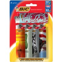 BIC Special Edition Favorites Series Lighter, 5 Pack