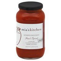 Mia's Kitchen Pasta Sauce, Arrabbiata,
