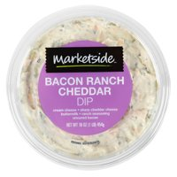 Marketside Bacon Ranch Cheddar Dip, 16 oz