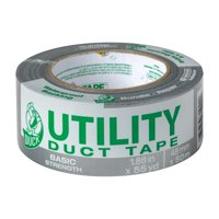 Duck Tape Brand 1.88 Inch x 55 Yard Silver Utility Duct Tape