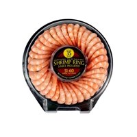 Premium Cooked Cocktail Shrimp, Tail-On Thaw and Serve, 51-60 pcs, 14 oz