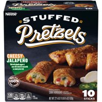 HOT POCKETS Stuffed Pretzels Cheesy Jalapeno Sticks 10 ct Box