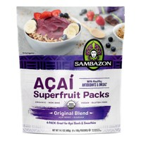 Sambazon Açaí Original Blend Superfruit Frozen Smoothie Packs - 400g