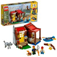 LEGO Creator Outback Cabin 31098 Toy Building Kit (305 Pieces)