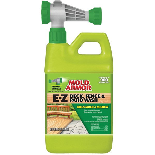 Deck Fence and Patio Wash - Mold Armor
