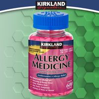 Kirkland Signature Allergy Medicine 25 mg Mini-Tablets, 600 ct