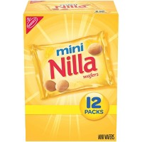 Mini Nilla Wafers Cookies - Munch Pack - 12ct/1oz