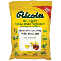 Ricola The Original Natural Herb Cough Drops 50 Ct