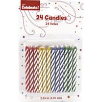 Way to Celebrate Primary Color Candles
