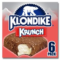 Klondike Ice Cream Bars Krunch 6 ct