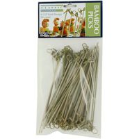 "RSVP 6"" Bamboo Appetizer Knot Picks"