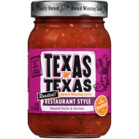 Texas Restaurant Style Roasted! Medium Salsa 16 Oz. Jar