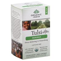Organic India Tulsi Moringa Herbal Supplement - 18 CT