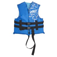 Child Open Sided Life Vest 30-50 LBS Blue