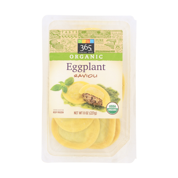 365 everyday value® Organic Eggplant Ravioli, 8 oz