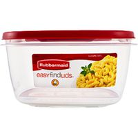 Rubbermaid Easy Find Lids Containers, 14 Cups