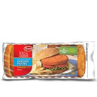Tyson Fully Cooked Chicken Patties, Frozen