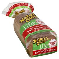Nature's Own 100% Whole Wheat 100% Whole Grain Bread