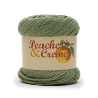 Peach & Crème Solids Cotton Yarn, 2.5 oz - Rosemary, (4) Medium