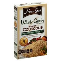Near East Whole Grain Roasted Garlic & Olive Oil Wheat Couscous