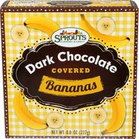 Sprouts Dark Chocolate Covered Bananas