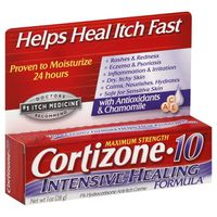 Cortizone-10 Intensive Healing Formula Maximum Strength Anti-Itch Creme