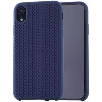 Blackweb Soft Touch Silicone Case for iPhone XR, Blue