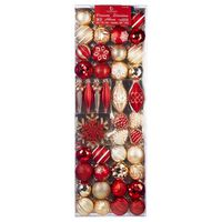 Shatter-Resistant Ornaments, 54 - Assortment Varies