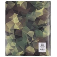 Pen + Gear, Poly Folder with 3 Prongs and 2 Pockets, Camo Design