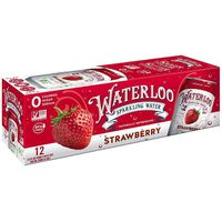 Waterloo Sparkling Water Stawberry Sparkling Water