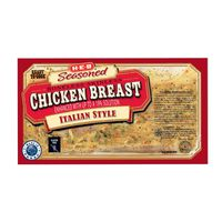 H-E-B Italian Style Seasoned Boneless Skinless Chicken Breast