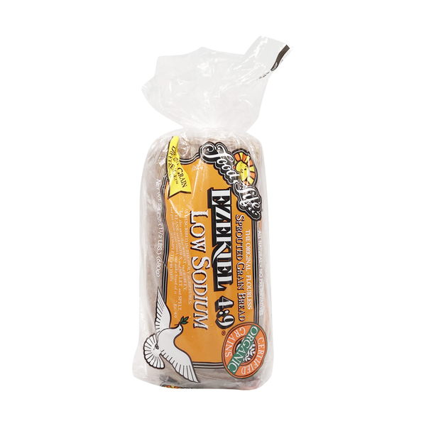 Food for life Organic Ezekiel 4:9 Low Sodium Sprouted Grain Bread, 24 oz