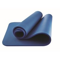 Athletic Works Fitness Mat, Blue, 10mm